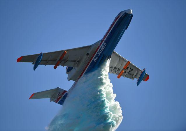 Avión anfibio multipropósito ruso Be-200