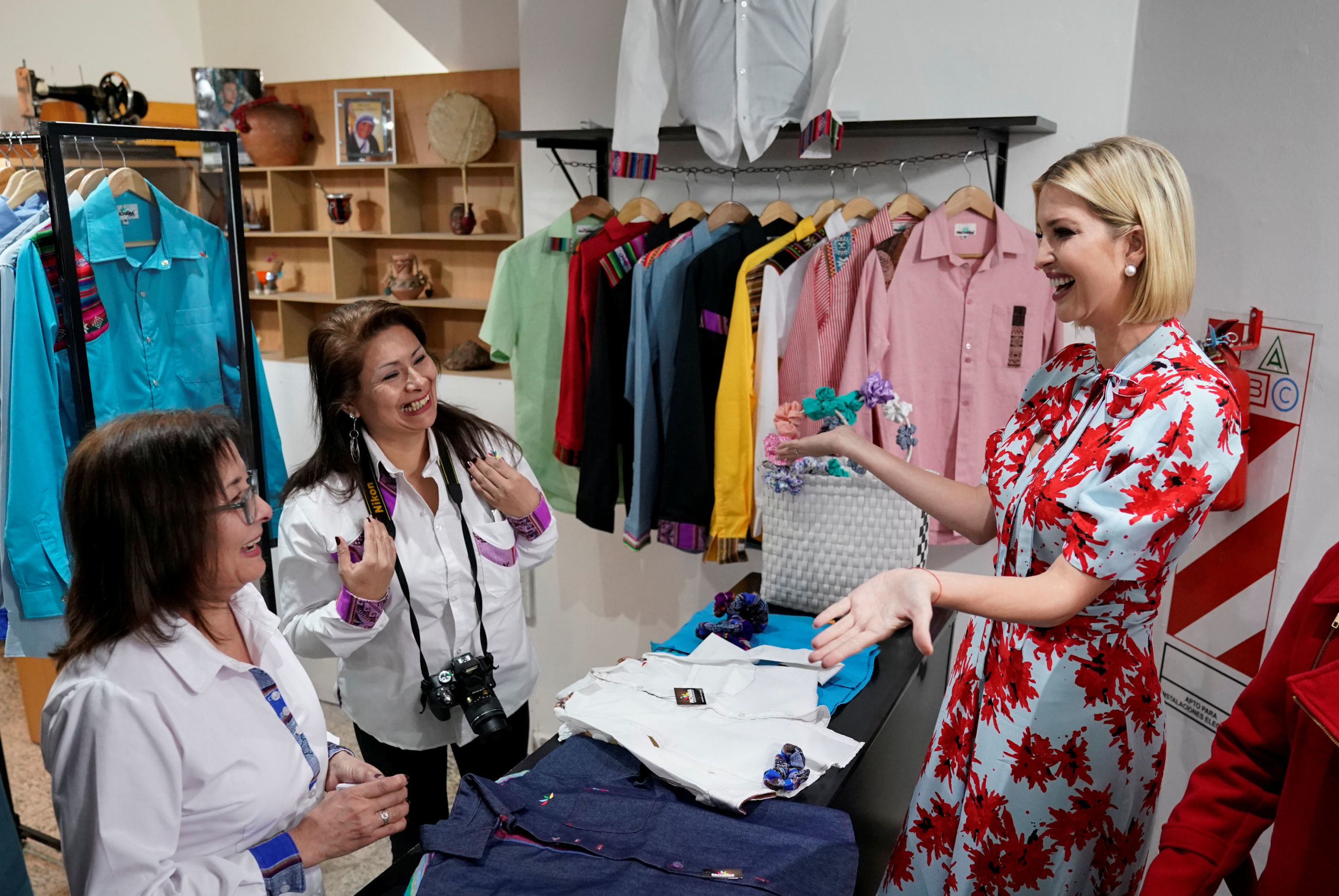 Ivanka Trump, hija del presidente de Estados Unidos, Donald Trump, y asesora de la Casa Blanca en Argentina