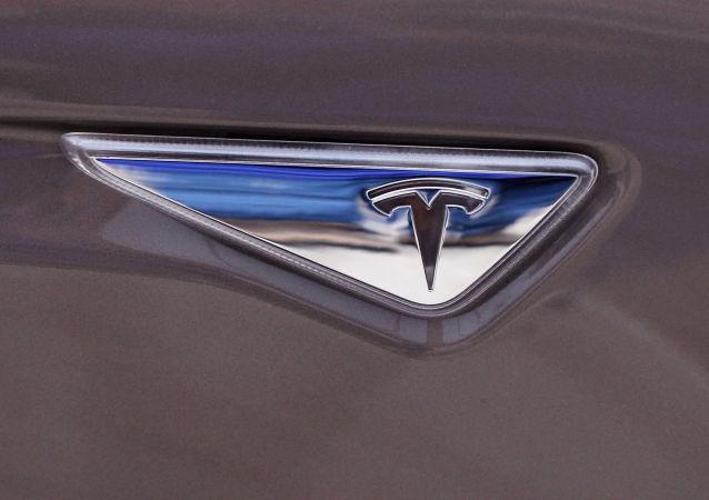 El logo de Tesla Motors