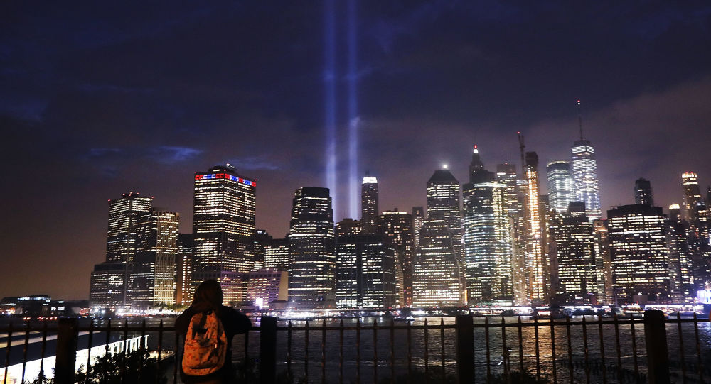 El espectáculo 'Tribute lights' de Manhattan