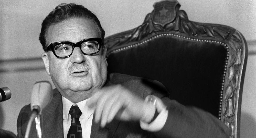 Salvador Allende, expresidente de Chile