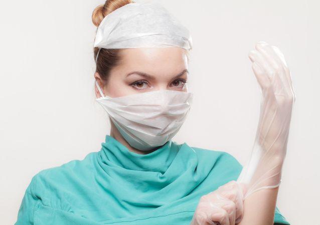 Enfermera, mujer