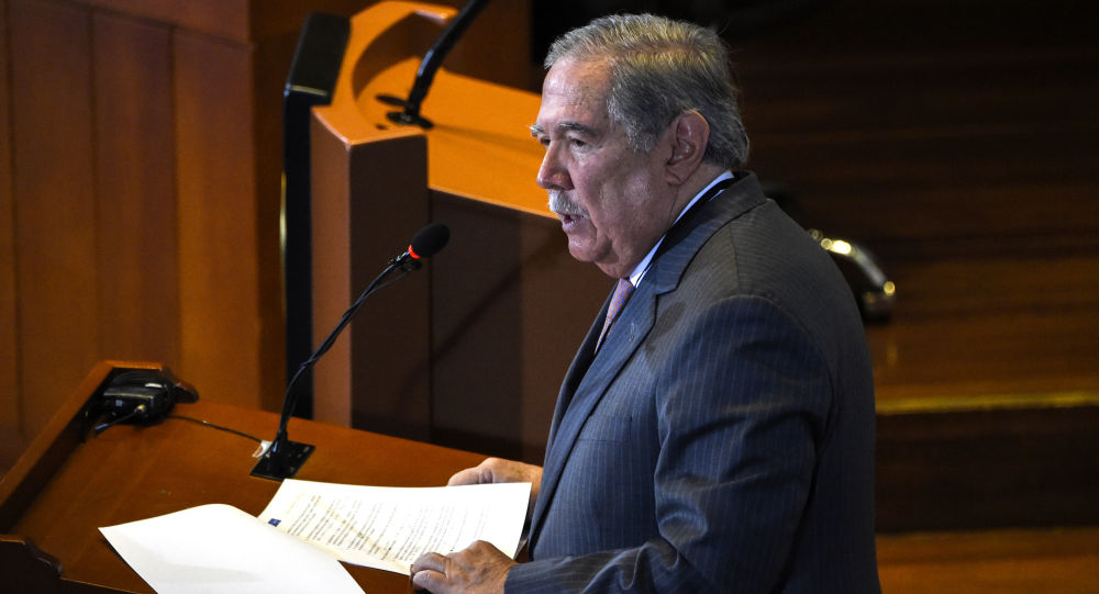 Guillermo Botero, ministro de Defensa de Colombia