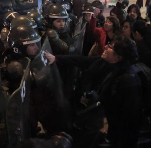 Enfrentamientos en Chile en el homenaje a Salvador Allende