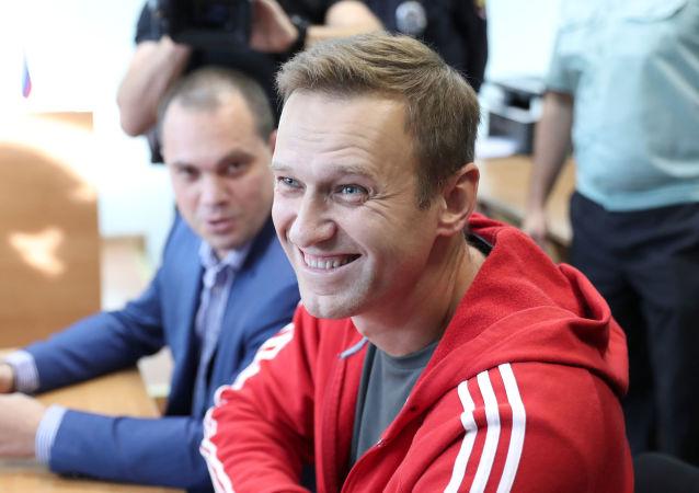 El político ruso Alexéi Navalni