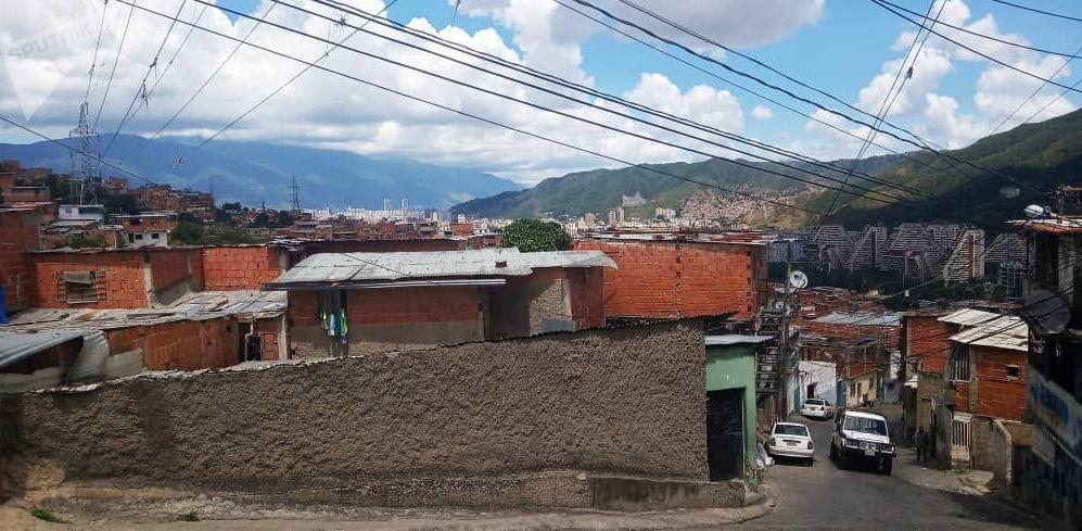 Vista sobre Caracas desde el cerro de Carapita