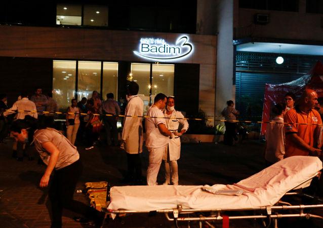 Situación en el hospital Badim en Río de Janeiro tras el incendio