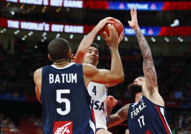 Argentina contra Francia en el Mundial de Baloncesto en China