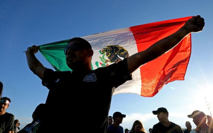El nacionalismo mexicano, menos acentuado en la capital