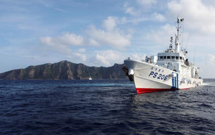 Japón reporta la aparición de cuatro patrulleros chinos cerca de islas disputadas