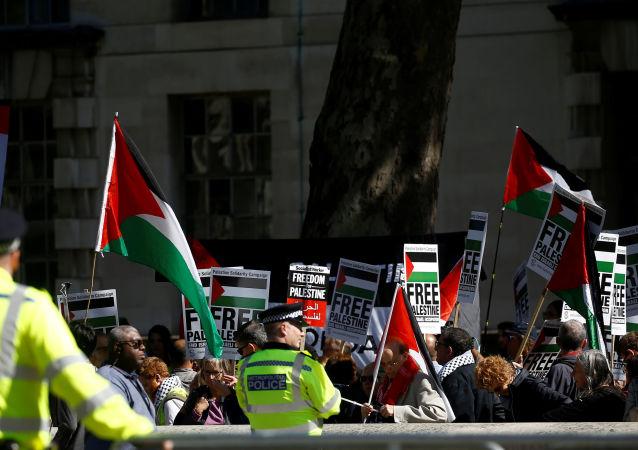 Protestas por Palestina en Londres