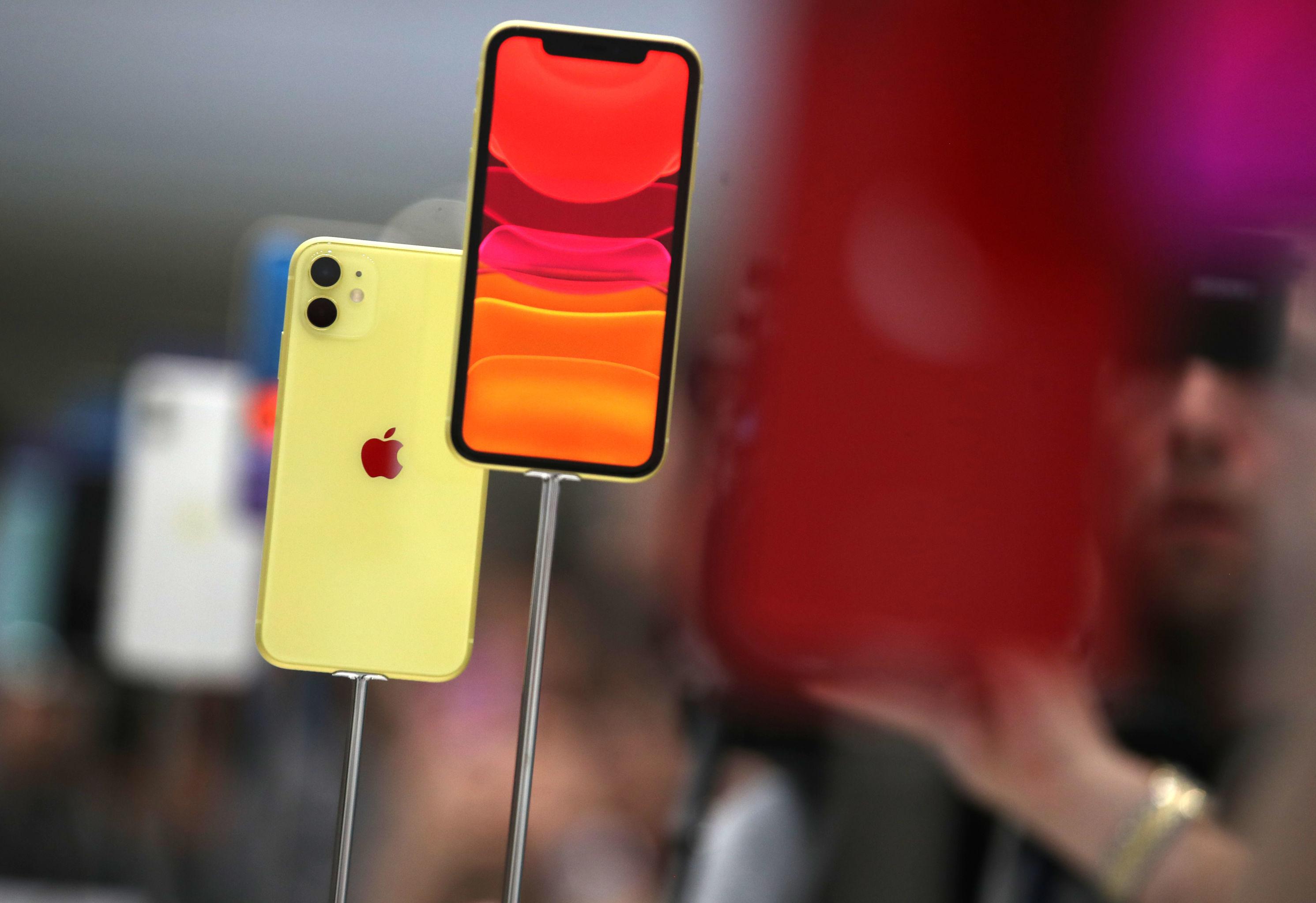 El iPhone 11 con doble cámara