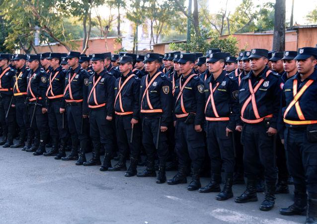 Los oficiales de la Policía de Paraguay