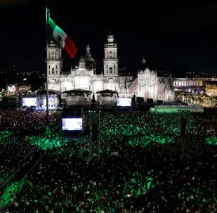 La celebración del Día de la Independencia en México