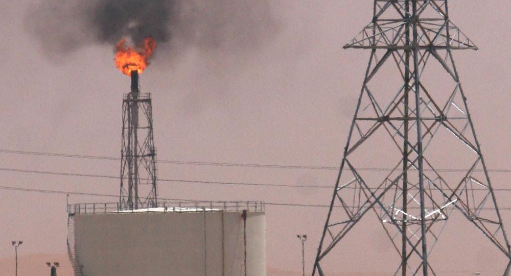 Una refinería saudí en Khurais