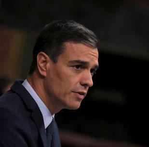 Pedro Sánchez, presidente interino del Gobierno de España