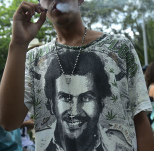 Una camiseta de Pablo Escobar