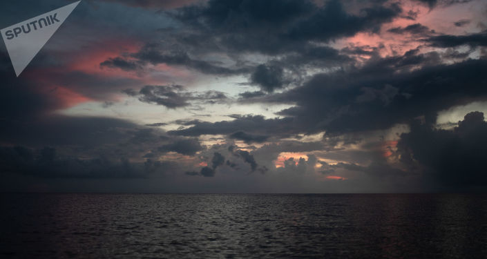 Puesta del sol en Big Corn Island