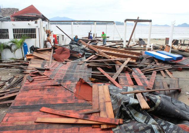 Consecuencias de la tormenta tropical Lorena en México