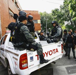 Agentes del Cuerpo de Investigaciones, Científicas, Penales y Criminalísticas (CICPC) de Venezuela (Archivo)