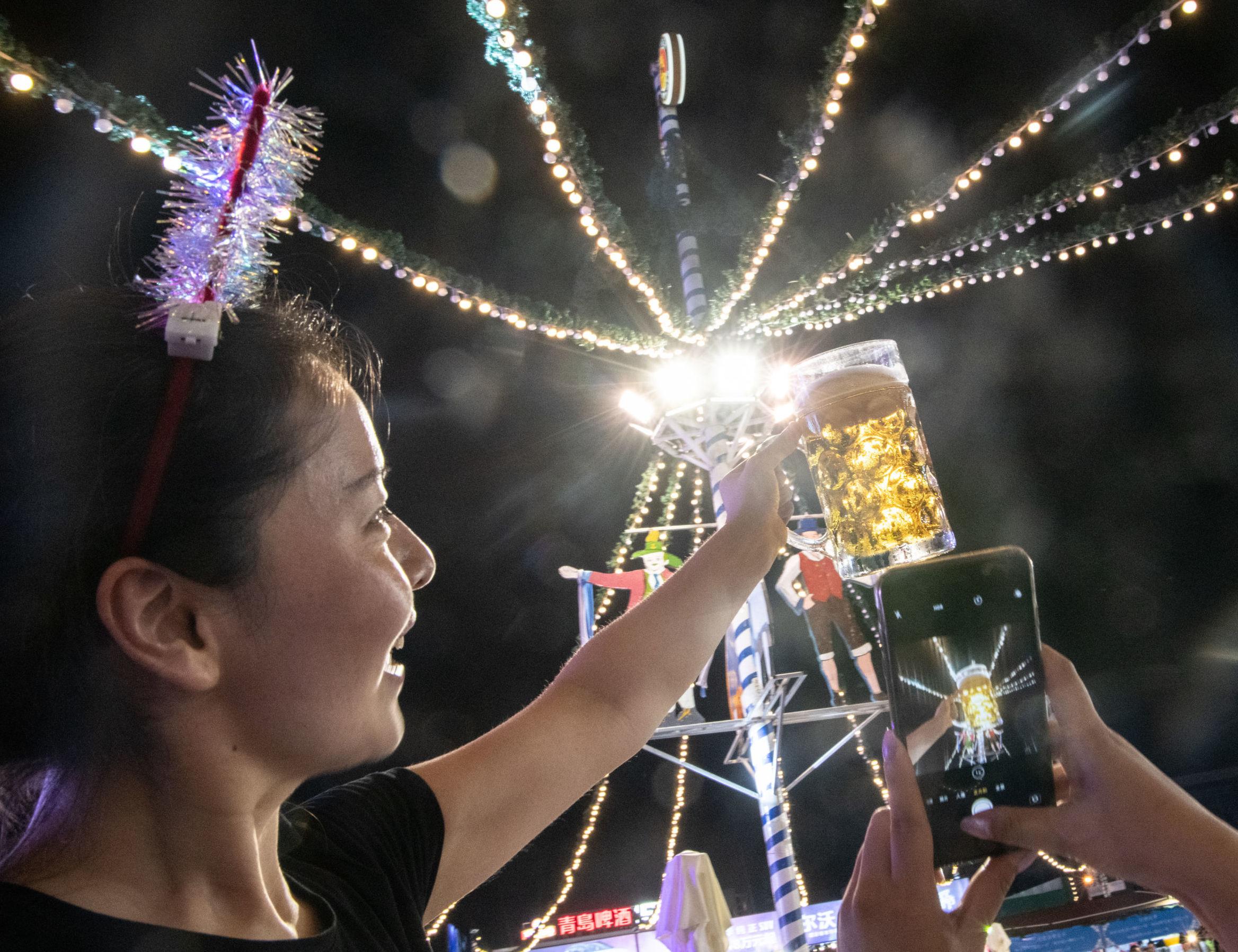 El Festival de Cerveza de Qingdao, China