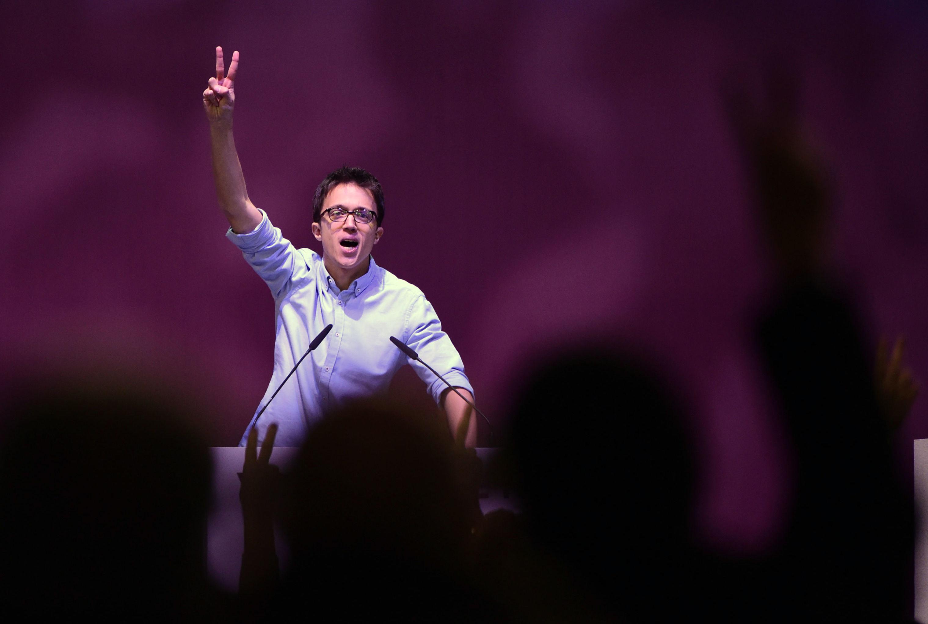 Iñigo Errejón, uno de los líderes del partido político 'Más Madrid'