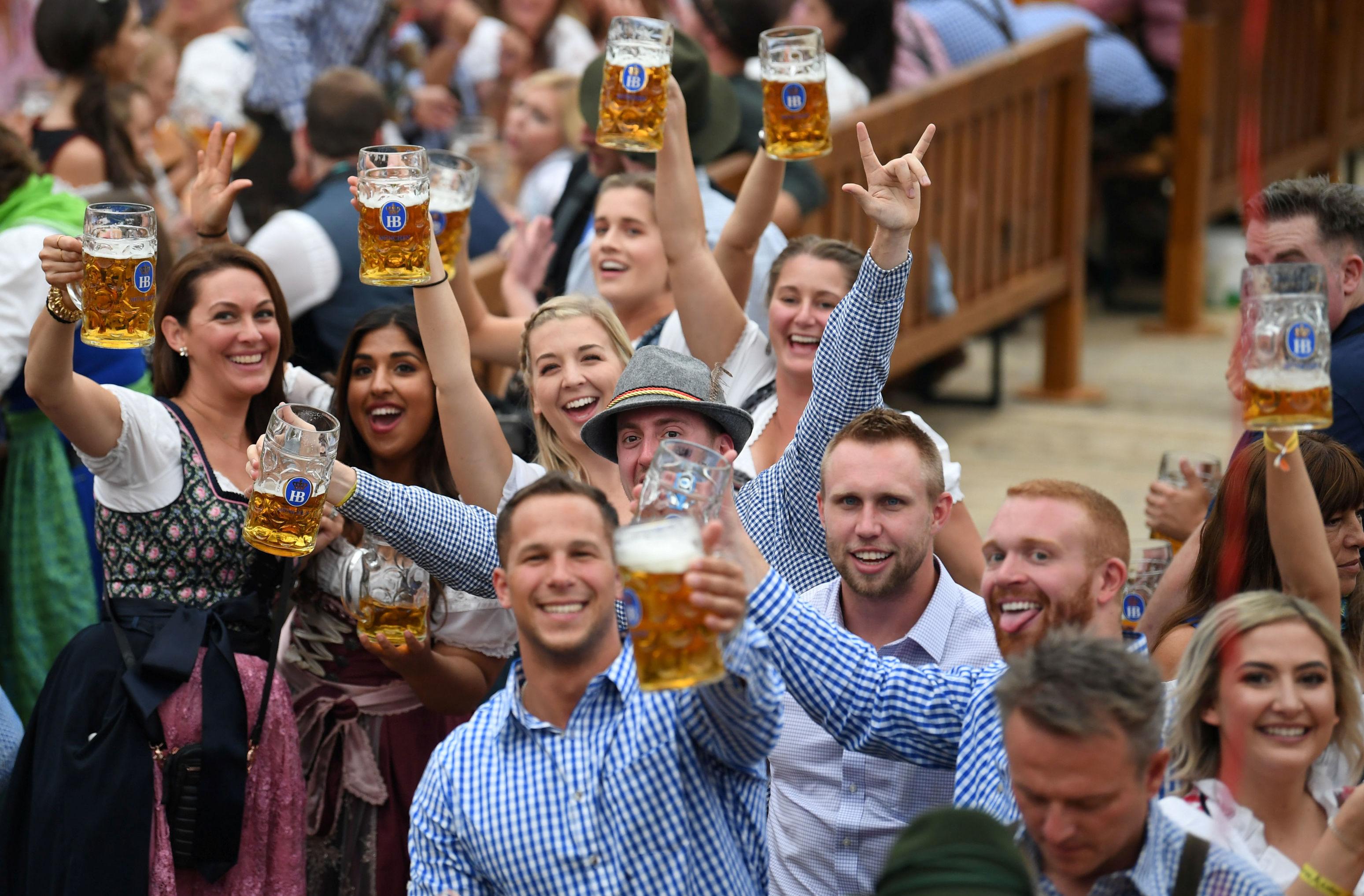 Festival de la cerveza Oktoberfest en Múnich (Alemania)