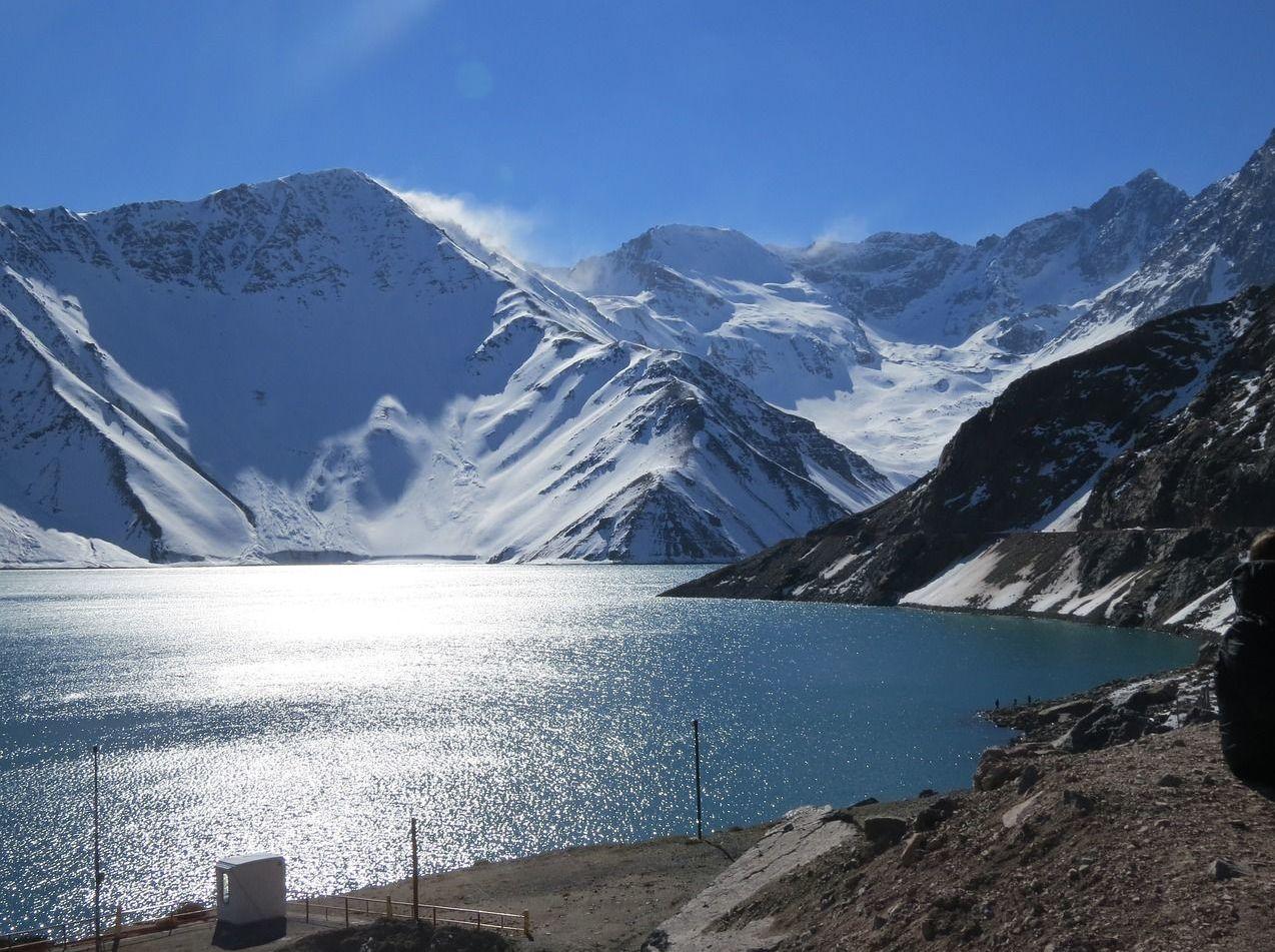 Unas montañas en Chile