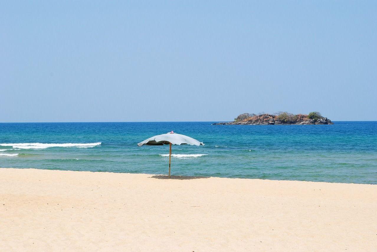 Una playa en Malawi