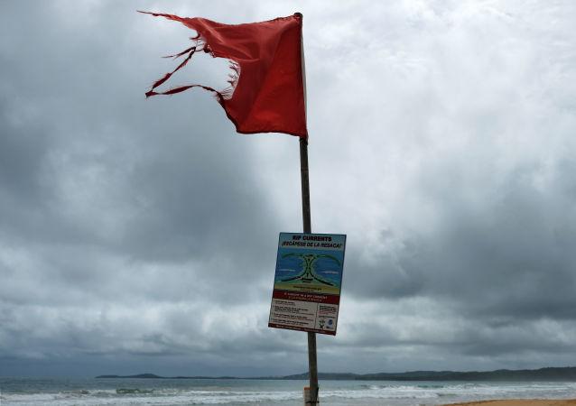 Advertencia del huracán