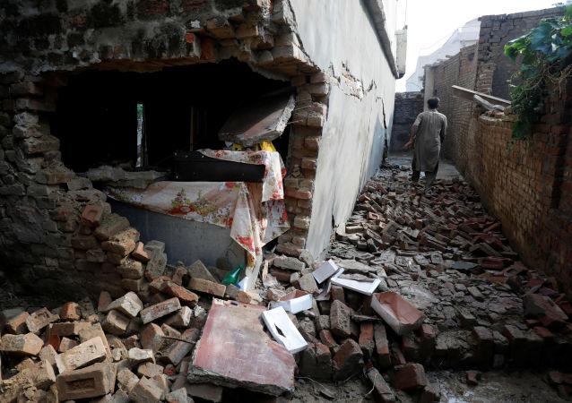 Un terremotoen el norte de Pakistán