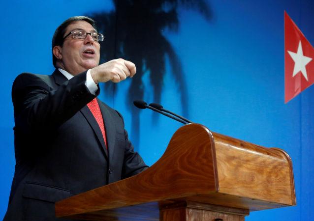 Bruno Rodríguez Parrilla, el canciller cubano