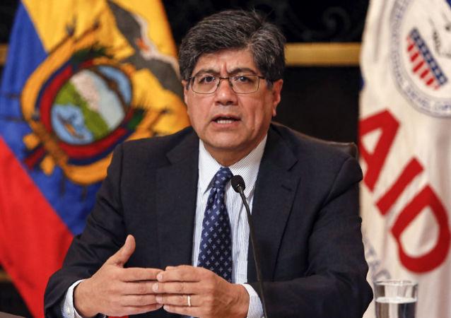 José Valencia, el canciller de Ecuador
