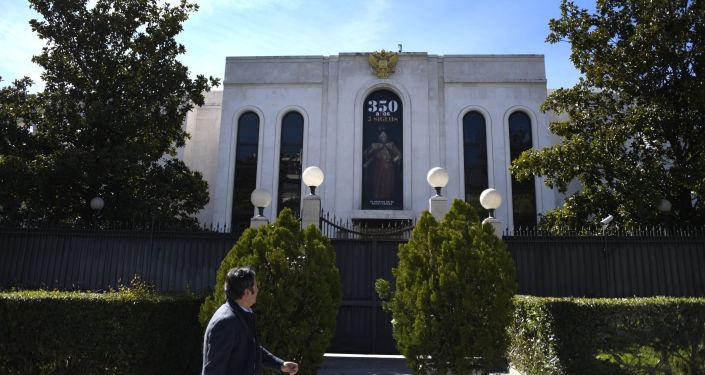 La embajada de Rusia en Madrid