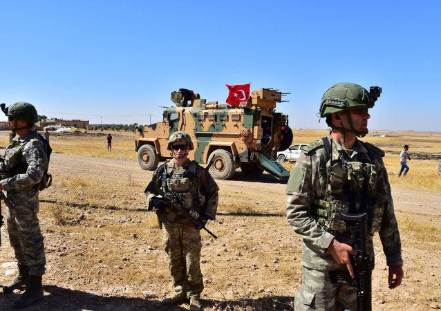 Patrullaje de Turquía y EEUU en Siria
