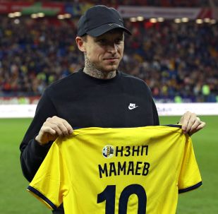 Pável Mamáev, futbolista ruso