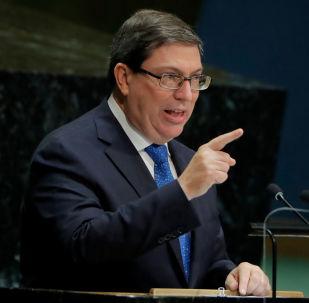 Bruno Rodríguez Parrilla, ministro de Exteriores de Cuba