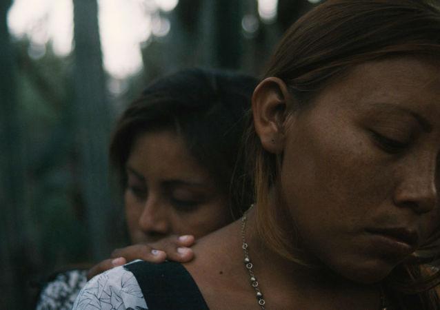 Indígenas wayuu, protagonistas de la película documental colombiana Lapü