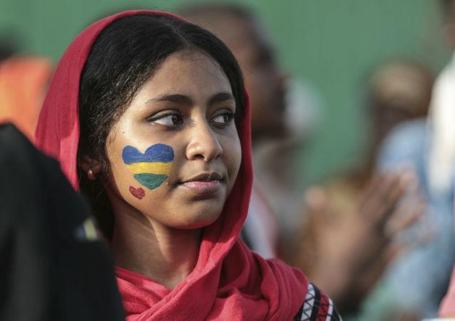 Una mujer sudanesa (imagen referencial)