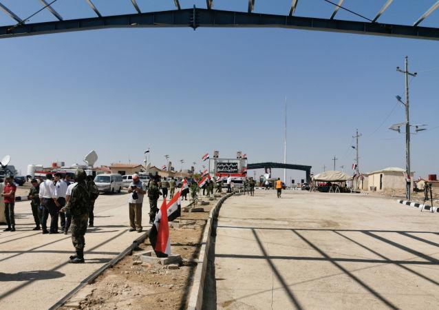 El puesto de control fronterizo de Abu Kamal/Al Qaim