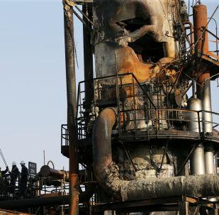 las instalaciones petroleras de Saudi Aramco tras los ataques