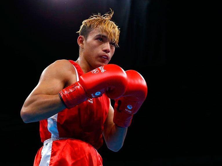 Yoel Finol, boxeador venezolano