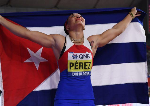 Yaimé Pérez, discóbola cubana