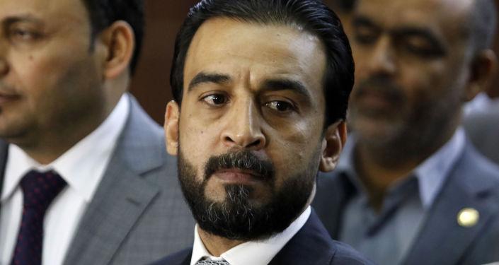 Mohammed al Halbusi, presidente del Parlamento de Irak