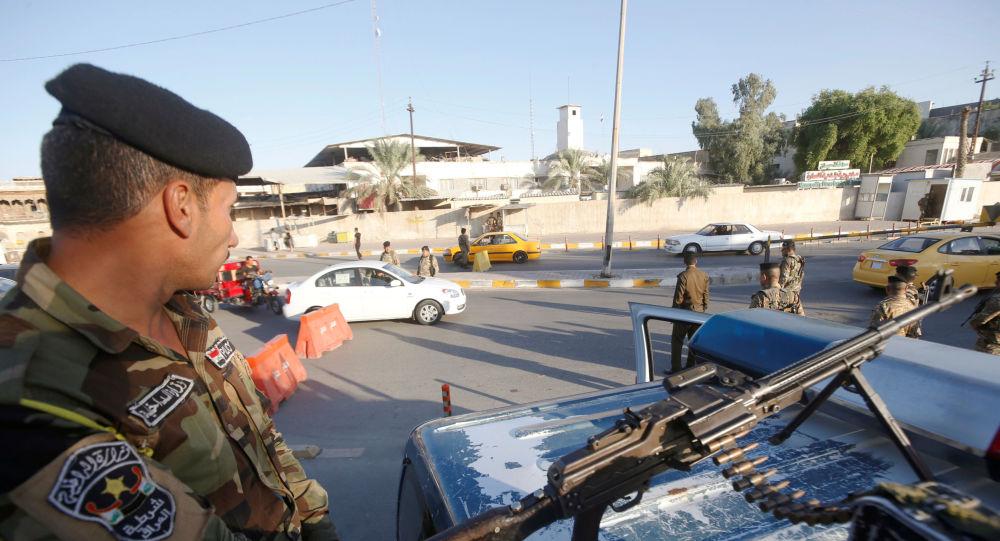 Policía iraquí