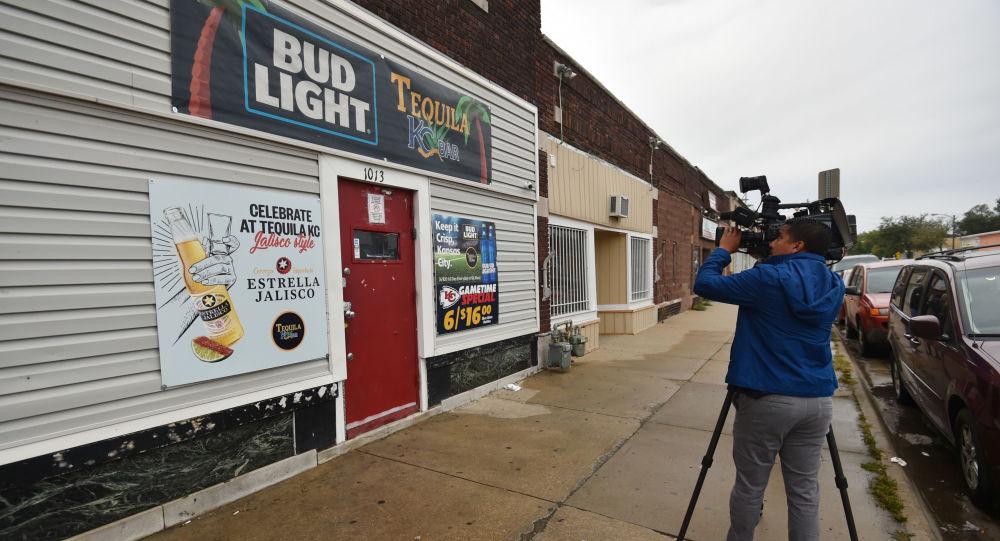 Bar 'Tequila' en Kansas City donde se produjo el tiroteo