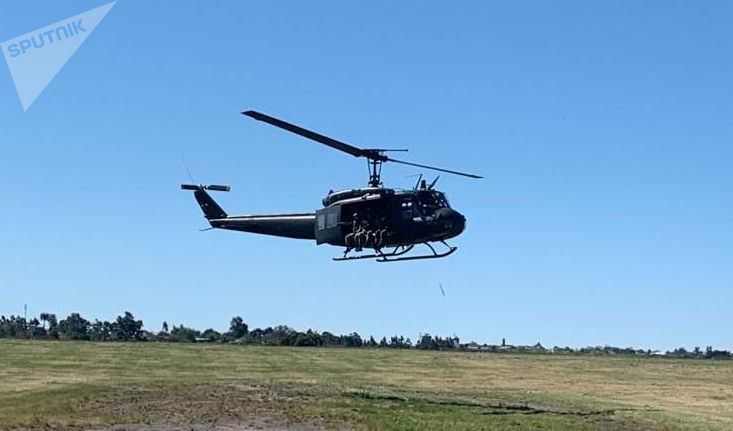 Bell UH 1 H Huey, aeronave de la Fuerza Aérea Uruguaya