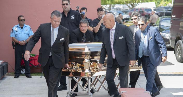 Los restos del cantante mexicáno José José