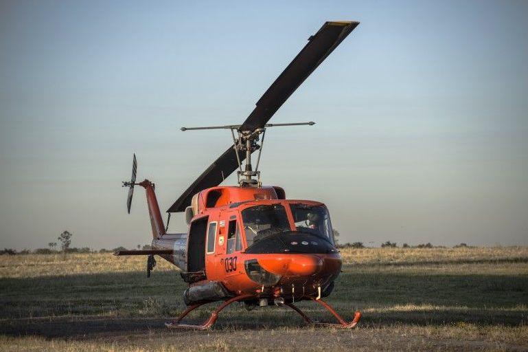 Bell 212 Twin Huey, de la Fuerza Aérea Uruguaya