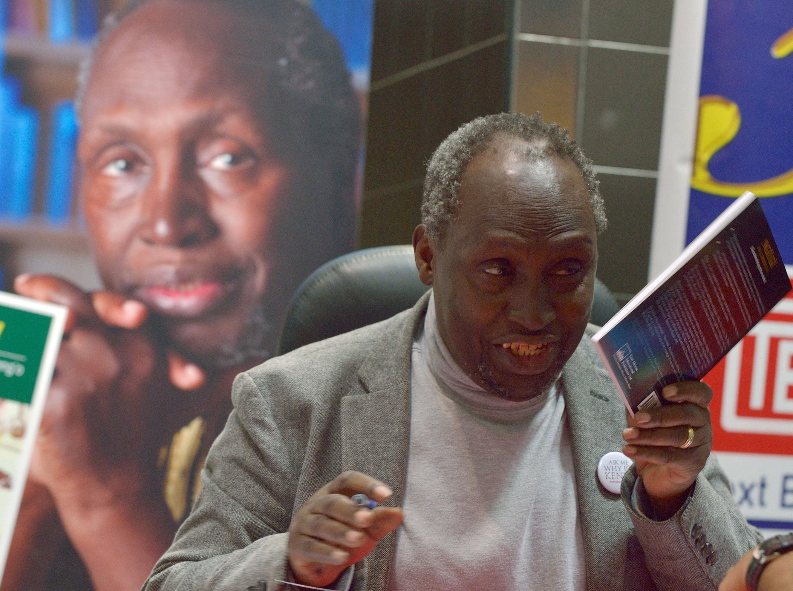 Ngugi Wa thiong'o, el escritor keniano